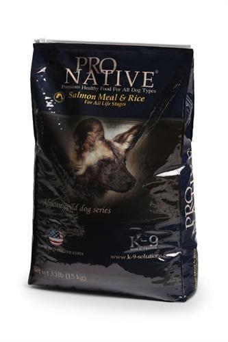 מזון כלבים פרו נייטיב סלמון ואורז