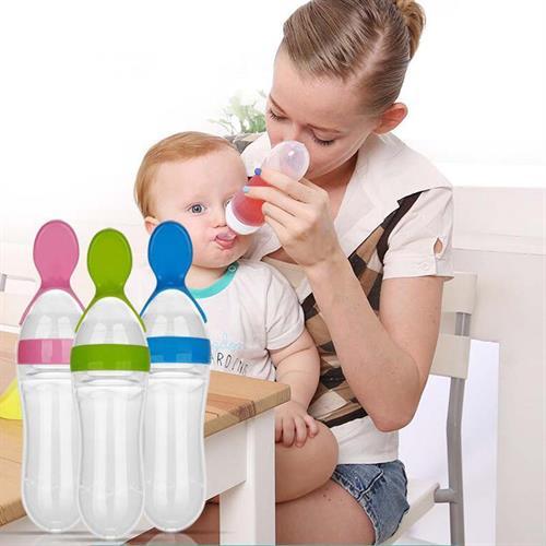 כפית בקבוק להאכלה קלה ויעילה של תינוקך