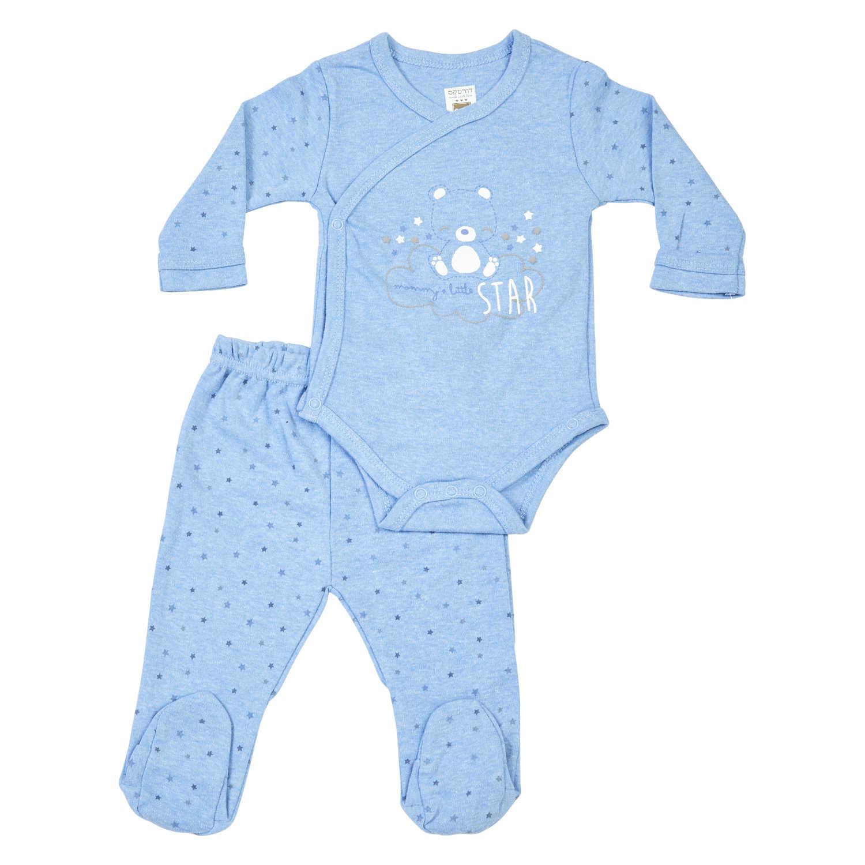 חליפת חזייה כוכב - כחול