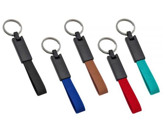 מחזיק מפתחות דמוי עור 1