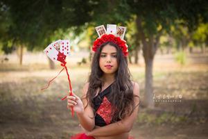 תחפושת מלכת הקלפים