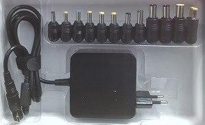 מטען חליפי אוניברסלי למחשב 90W  15-20V  100-240V