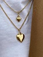 שרשרת לב  לקס זהב