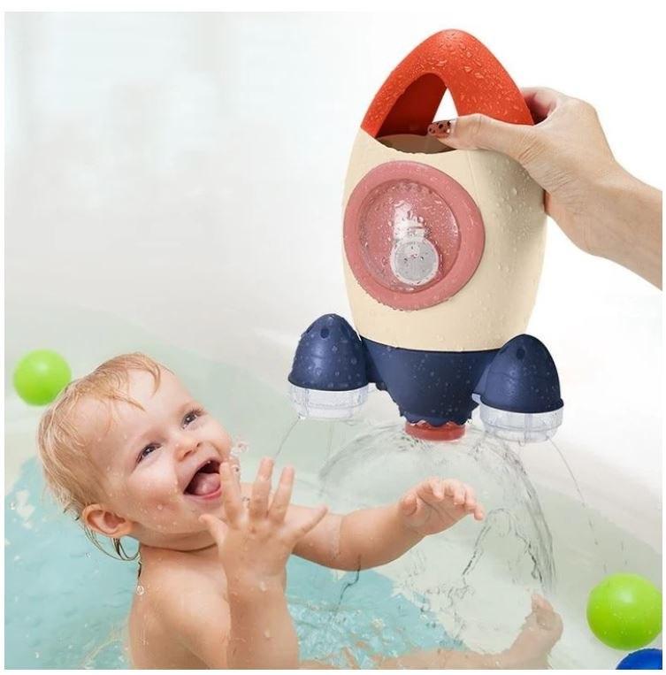 משחק חללית לאמבטיה