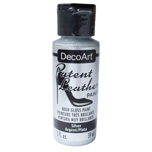 צבע לעור DECOART - כסף DPL12