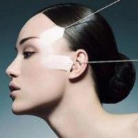 40 מדבקות מתיחה להרמה ועיצוב מבנה הפנים והעיניים