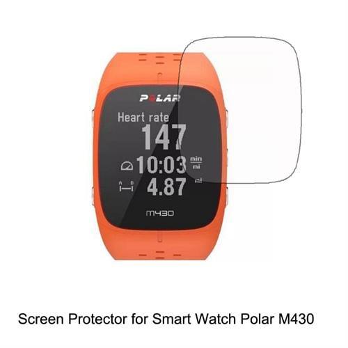 מגן מסך זכוכית לשעון Polar M430 - סט 3 יחידות
