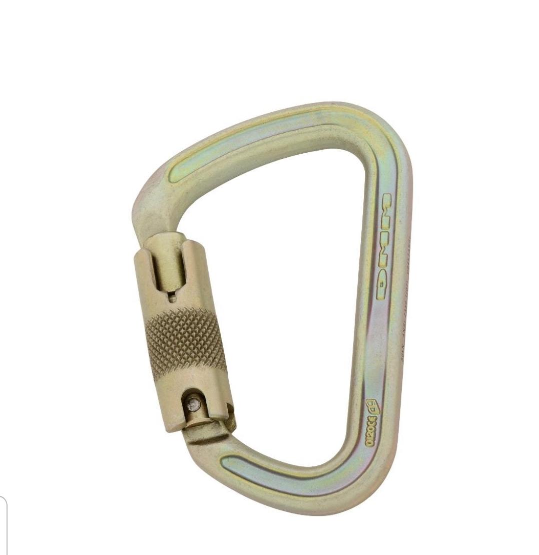 טבעת פלדה Dmm- I-Beam לוק סייף