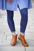 טייץ ג'ינס כחול
