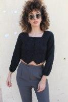 חולצת אמה שחורה