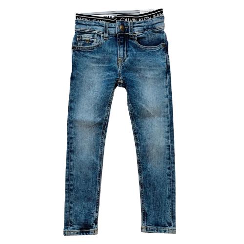 ג'ינס כחול CALVIN KLEIN JEANS לוגו