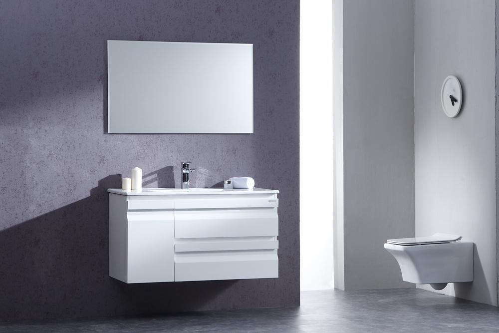 ארון אמבטיה תלוי בעיצוב נקי דגם פורלי FORELY