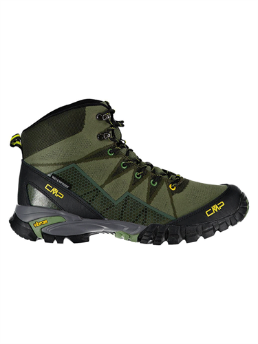 נעלי הרים גברים לטיולים ירוק - CMP TAURI MID 38Q9977-F812
