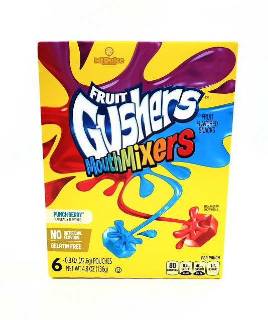 Gushers Mouth mixers