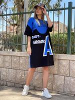 שמלת הדפס A