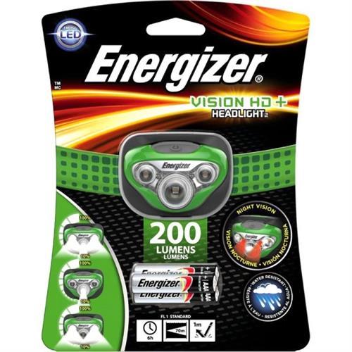פנס ראש לד | Energizer vision HD+ 200 lumens