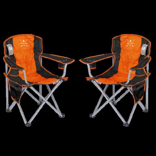 זוג כסאות קמפינג ICAMP NAVIGATOR