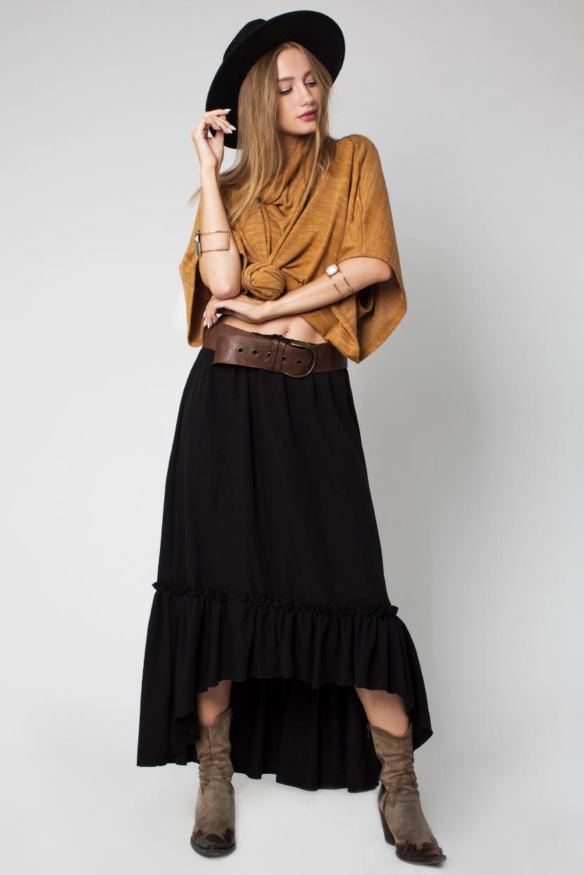 חצאית וולן שרונה