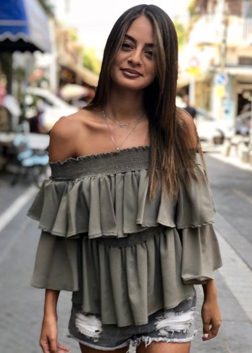 חולצת איזבלה ירוקה