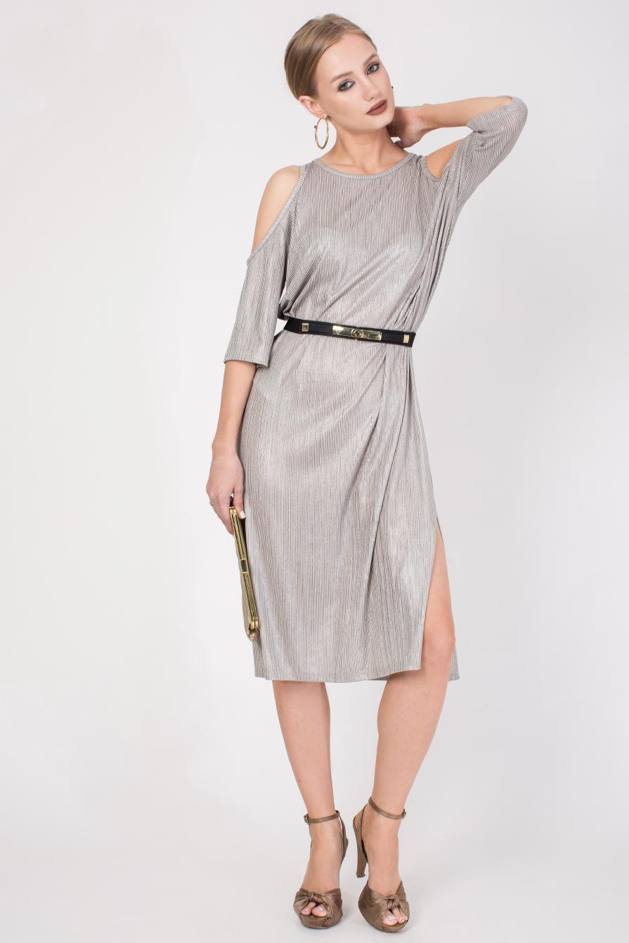 שמלה שנהב קצרה