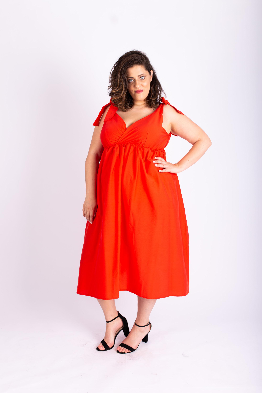 שמלת אמה אדומה