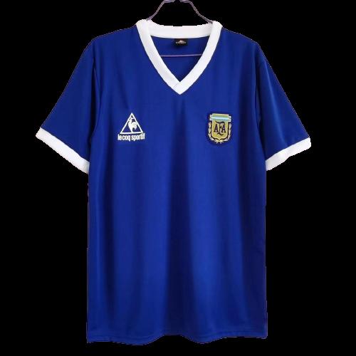 חולצת מראדונה  1986 ארגנטינה  מדי חוץ