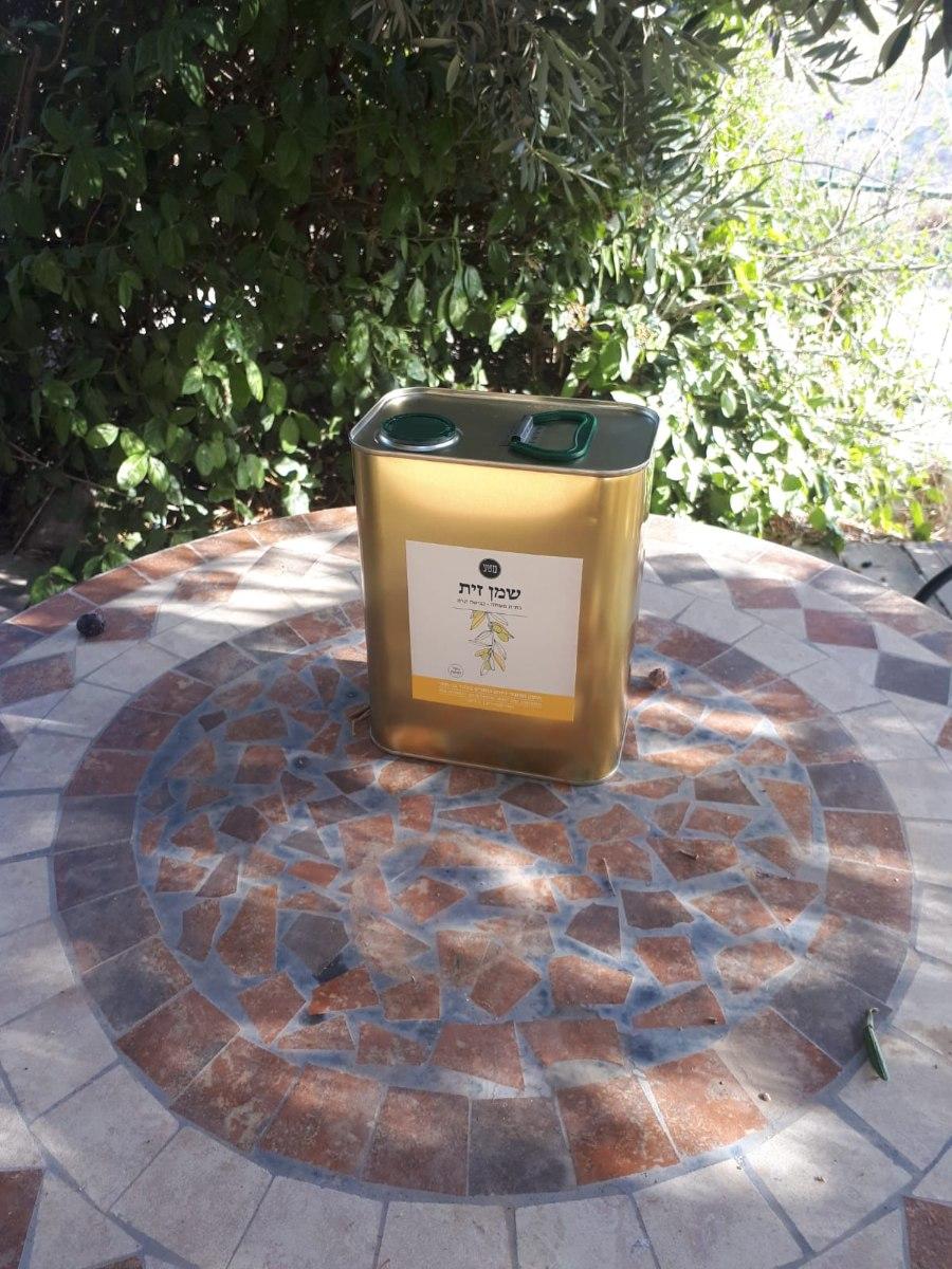 שמן זית בוטיק מכוכב השחר (בלנד פיקואל סורי) 2 ליטר