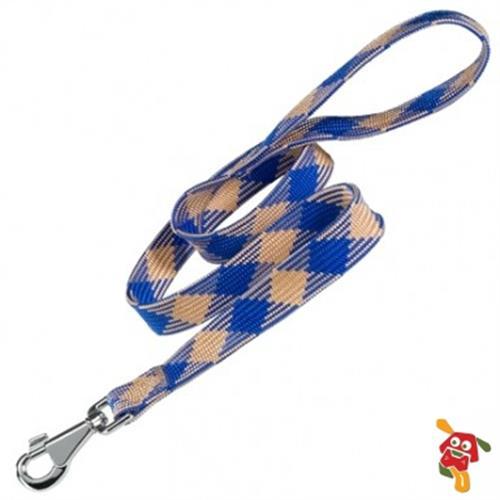 """רצועה לכלב פרפלסט כחול 120 ס""""מ"""