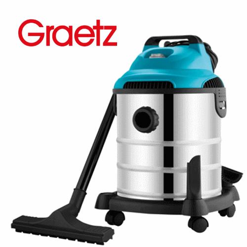 שואב אבק רטוב / יבש נירוסטה Graetz דגם: GR-629