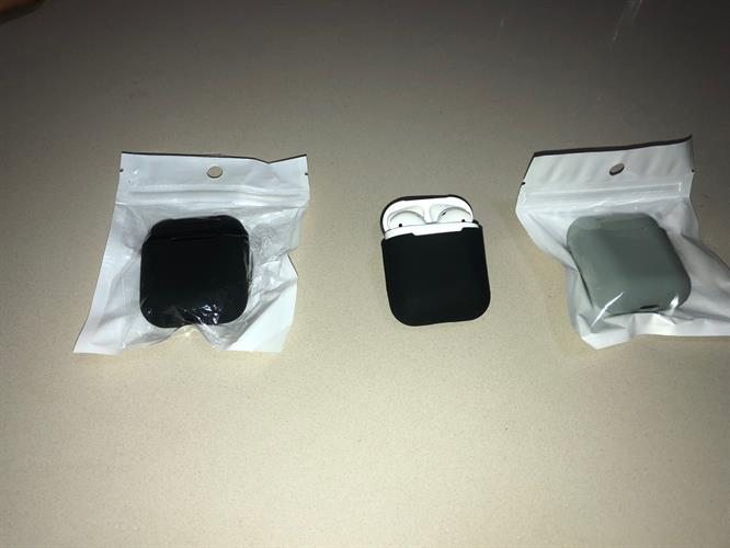 Silicon Apple airpods case