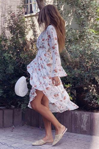 שמלת מידי וולן קרולינה