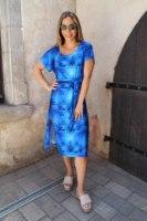 שמלת שילה כחולה