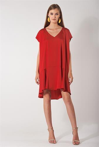 שמלת סיה אדומה