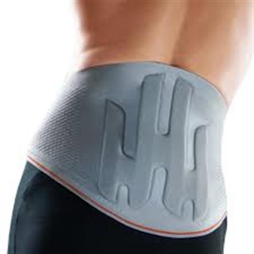 חגורת גב לומברית עם צירי מתכת וסיליקון SPORLASTIC V.STABIL
