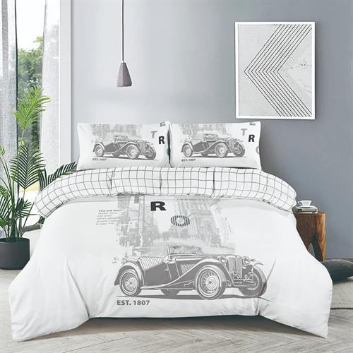 סט מלא מיטה וחצי דגם מכונית