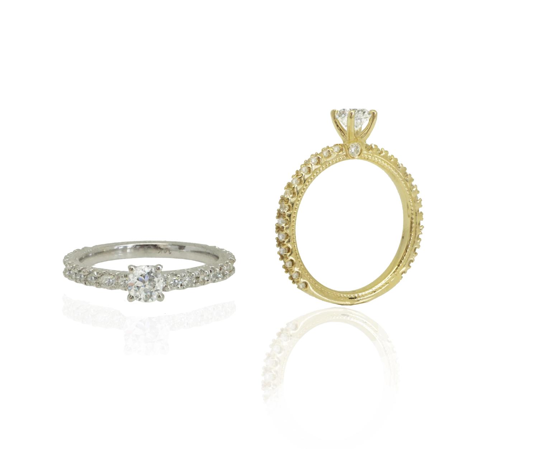 עותק של טבעת אירוסין │ טבעות אירוסין │ טבעת יהלומים יוקרתית