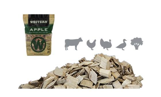 שבבי עץ לעישון בשר - תפוח