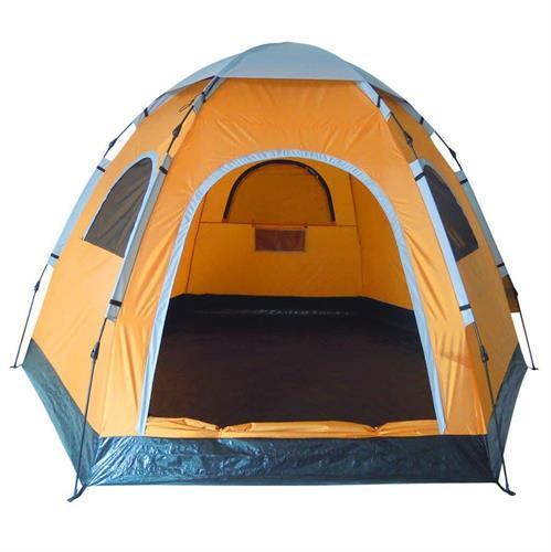 אוהל משפחתי דגם משושה