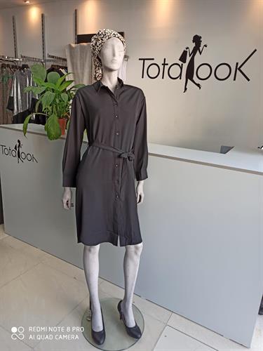 שמלת שואו שחורה