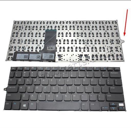 מקלדת למחשב נייד דל DELL Inspiron 11 3147 3148 US Keyboard NO Frame Black