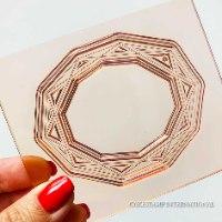 Apocalypse Geometric Special Frame Mold | Flexible Polymer Mold | Chocolate Mold