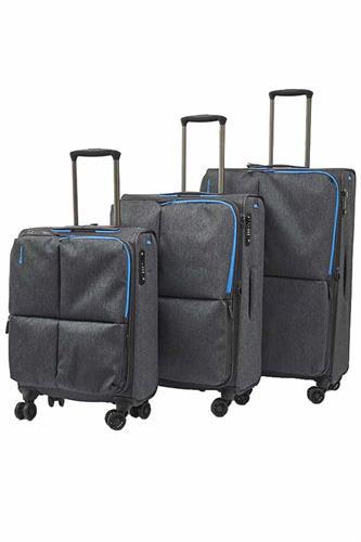 סט 3 מזוודות קלות אקולק Echolac MUSE