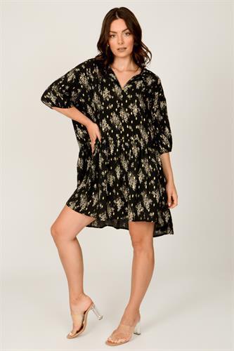 שמלת  אוברסייז טיילור  שחורה