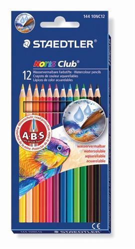 """""""עפרון צבעוני אקוורל סט 12"""