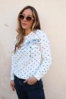 חולצת פפיון לבן