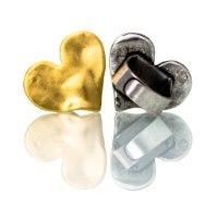 טבעת רומי כסף/זהב