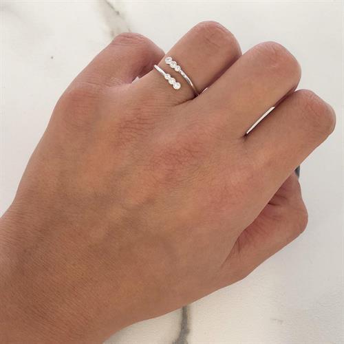 טבעת ספירלה כסף 925