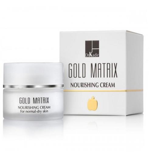 קרם מזין גולד מטריקס לעור נורמלי יבש - Dr. Kadir Gold Matrix Nourishing Cream