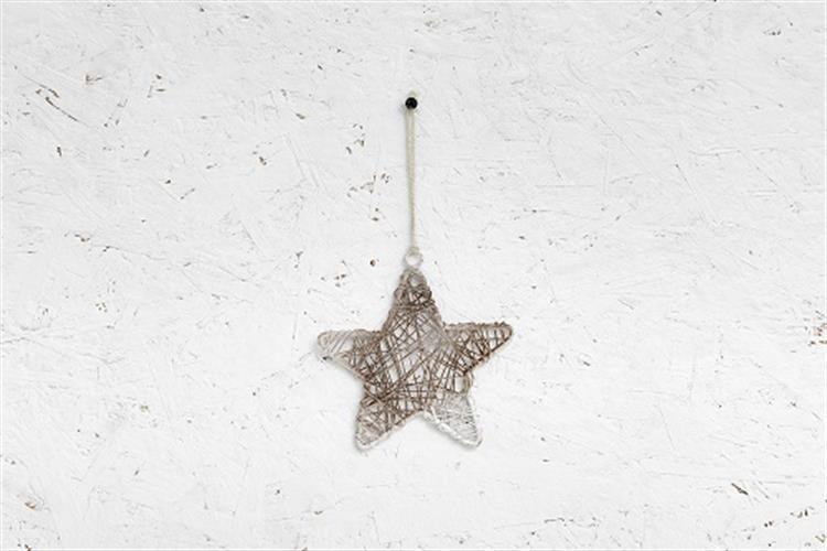 כוכב מיתרי ברזל - לבן מלוכלך