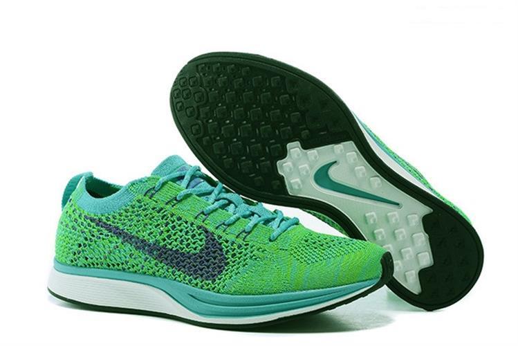נעלי Nike Flyknit Racer בגימור Green מידות 40-45